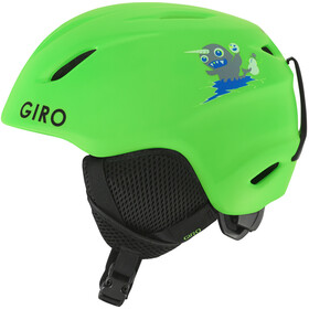 Giro Launch Helm Kinderen, matte bright green/lilnugs